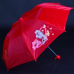 Skládací dětský deštník Samson červený