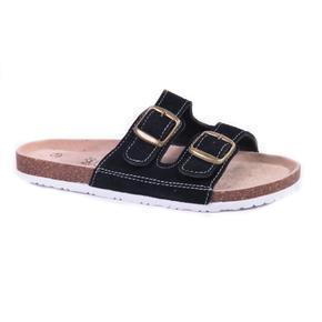 Pánské korkové pantofle Tom černé