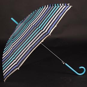 Pruhovaný deštník Dora modrý