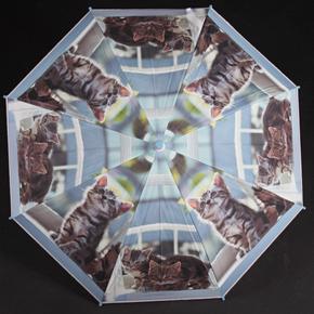 Dětský vystřelovací deštník Tory tmavě modrý