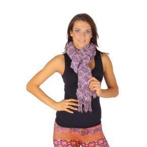 Zimní šátek Tory fialový D5