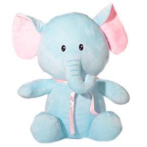 Plyšový sedící slon 55 cm Bimbo