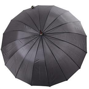 Velký holový deštník pro páry Saskie černý