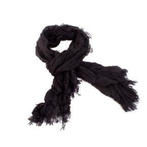 Jednobarevný šátek Ema černý B1