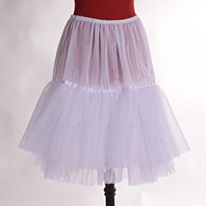 Bílá spodnička Zuzana pod sukně a šaty
