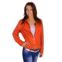 Dámská jarní bunda Sharlot oranžová