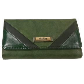Zelená stylová dámská peněženka Valentino