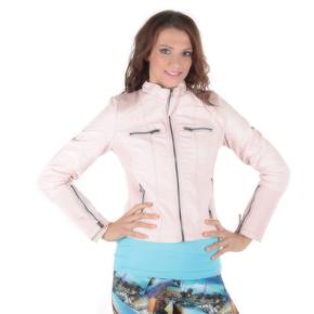 Jarní růžová bunda Trixi
