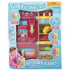 Dětská hračka - lednice Mery s příslušenstvím