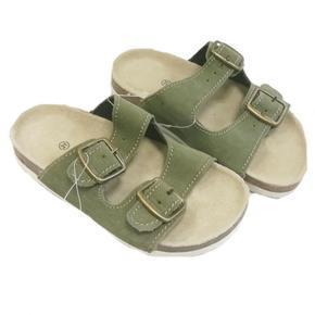Dětské korkové pantofle Blanka zelené - 31
