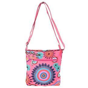 Luxusní dámská kabelka Aura růžová