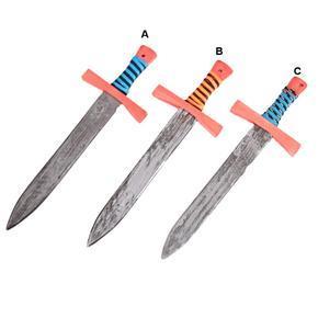 Barevný dřevěný meč Tomas