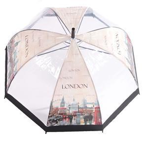 Průhledný deštník Bus