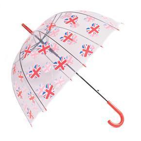Průhledný deštník Vlajka