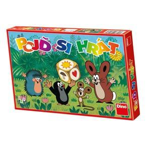 Dětská společenská hra pojď si hrát Krtek