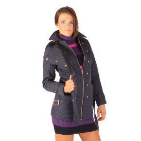 Modní prošívaný kabát Leontyn