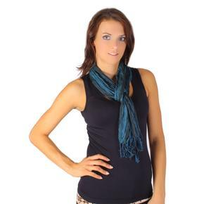 Trendy šátek Helen petrolejová B4