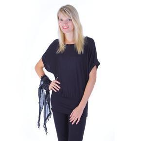 Černá tunika Jasmin k leginám