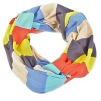 Tunelový šátek Sendy modrý D3