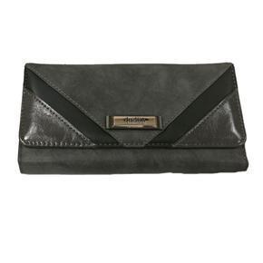 Šedá stylová dámská peněženka Valentino