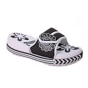 Gumové pantofle Brita černé