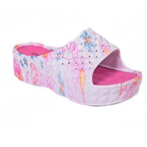 Gumové pantofle Peny růžové