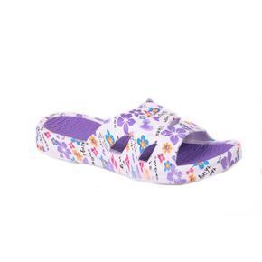 Gumové pantofle Sweet fialové