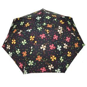 Skládací dámsky deštník Silvio černý