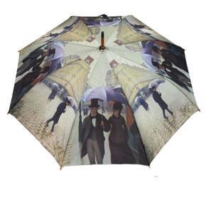 Luxusní dámský vystřelovací deštník Sabina