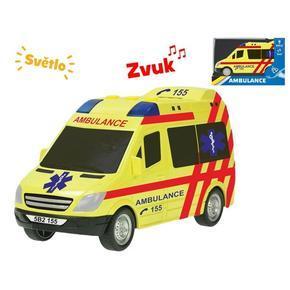 Auto ambulance na setrvačník 18cm Lou
