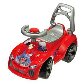 Odrážedlo auto s klaksonem Kenny červené