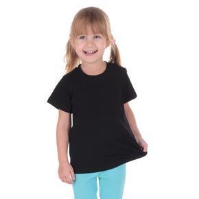 Černé dětské tričko krátký rukáv Laura od 122-146