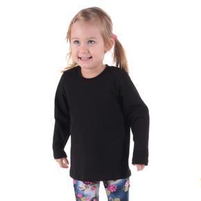 Dětské tričko dlouhý rukáv Marlen černé od 98-116