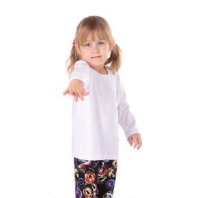 Dětské tričko dlouhý rukáv Marlen bílé od 98-116