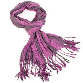Slabý šátek Helen fialový B4