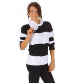 Pletený svetr Ivett s rolákem