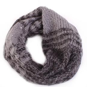 Tunelový šátek Peter šedý E4