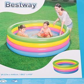 4komorový nafukovací bazén 157x46cm Jasmin