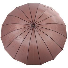 Velký holový deštník pro páry Saskie hnědý