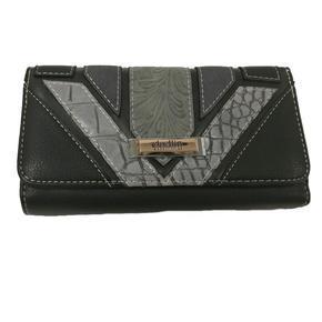 Černá luxusní dámská peněženka Ellini
