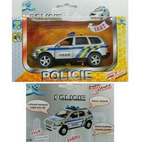 Policejní auto se zvukem Venda 11cm