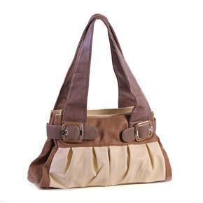 Elegantní kabelka Doris hnědá 5D