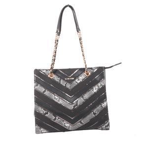 Černá dámská moderní kabelka Sandra