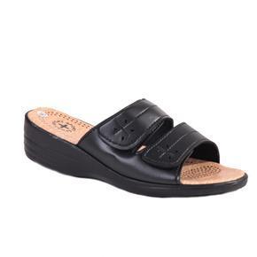 Dámské černé pantofle Tanja