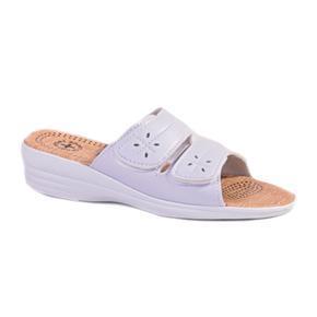 Dámské bílé pantofle Tanja