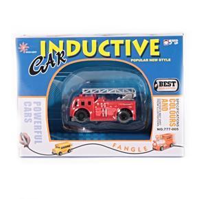Indukční autíčko s magickým fixem - Hasiči