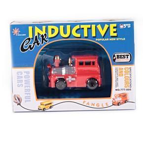 Indukční autíčko s magickým fixem - Mašinka