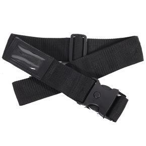 Textilní bezpečnostní popruh na kufr Hery černý