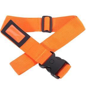 Textilní bezpečnostní popruh na kufr Hery oranžový