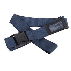 Textilní bezpečnostní popruh na kufr Hery modrý